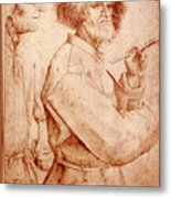 Bruegel: Painter, 1565 Metal Print