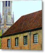 Bruges 18 Metal Print