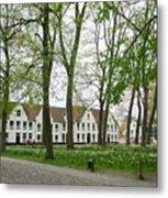 Bruges Begijnhof 1 Metal Print