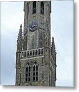 Bruges Belfry 2 Metal Print