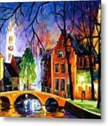 Bruges Belgium Metal Print