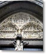 Bruges Detail 5 Metal Print