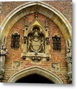 Bruges Detail 9 Metal Print