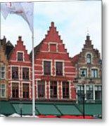 Bruges Markt 6 Metal Print