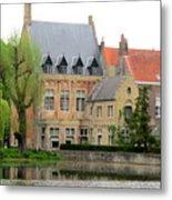 Bruges Sashuis 1 Metal Print