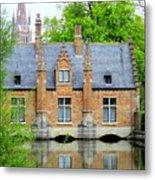 Bruges Sashuis 4 Metal Print
