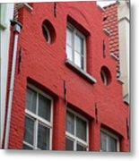 Bruges Window 7 Metal Print