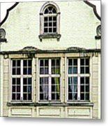 Bruges Window 8 Metal Print