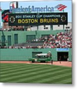 Bruins At Fenway Metal Print