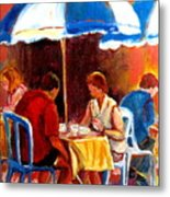 Brunch At The Ritz Metal Print