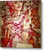 Brunch In Ambiance Metal Print