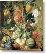 Brussel Fruits 1789 Metal Print
