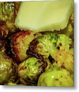Brussel Sprouts 2 Metal Print