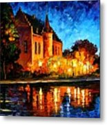 Brussels - Castle Saventem Metal Print