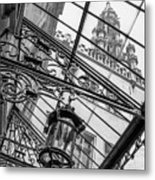 Brussels Town Hall Metal Print by Michel Godts