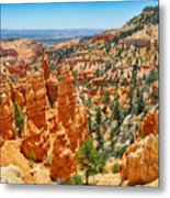 Bryce Canyon Fairyland Vista Metal Print