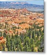 Bryce Canyon Fairyland Vista Point Metal Print