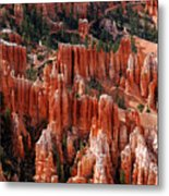 Bryce Canyon In Utah Metal Print