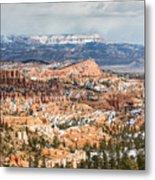 Bryce Canyon Looking Towards Aquarius Plateau   Metal Print