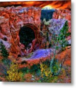 Bryce Canyon Natural Bridge Metal Print