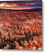 Bryce Canyon Sunset Metal Print