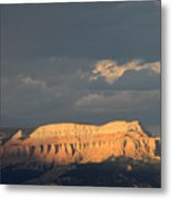 Bryce Canyon Thunderstorm  Metal Print