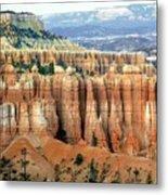 Bryce Canyon Vertical Hoodoos Metal Print