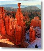 Bryce Canyon's Thor's Hammer Metal Print