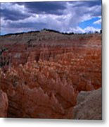 Bryce Clouds 2 Metal Print
