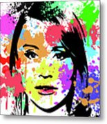 Bryce Dallas Howard Pop Art Metal Print