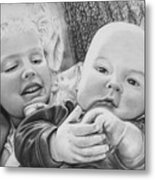 Brynn And Austin Metal Print