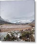 Buachaille Winter Panorama Metal Print
