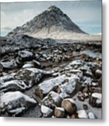 Buachaillie Etive Mor, Glencoe, Scotland Metal Print