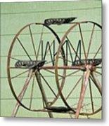 Bubbas  Fairs Wheel Metal Print