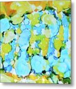 Bubble Collection Metal Print