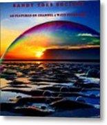 Bubble Dome   Metal Print