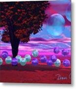 Bubble Garden Metal Print