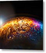 Bubble Planet I  Metal Print