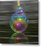 Bubble Shazam Metal Print