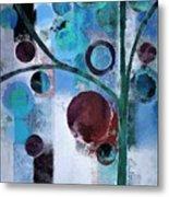 Bubble Tree - 055058167-86a7b2 Metal Print