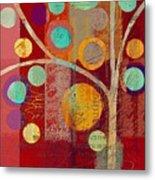 Bubble Tree - 85lc13-j678888 Metal Print