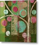 Bubble Tree - 85lc16-j678888 Metal Print