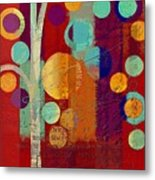 Bubble Tree - 85rc13-j678888 Metal Print