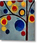 Bubble Tree - Dps02c02f - Left Metal Print