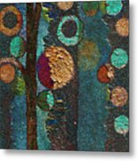 Bubble Tree - Spc02bt05 - Right Metal Print by Variance Collections