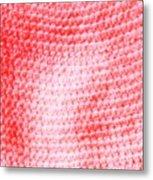Bubblegum Knit Metal Print
