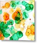 Bubbleicious Metal Print
