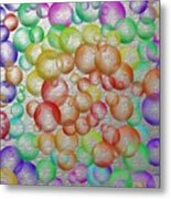 Bubbly Bubbles 2 Metal Print
