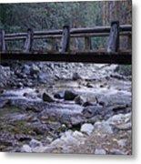 Bubbs Creek Bridge Metal Print