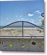 Buccaneer Beach Metal Print